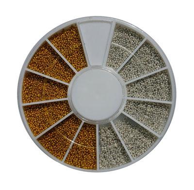 caviar goud zilver