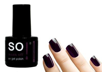 So! Soak off gel polish purple passion