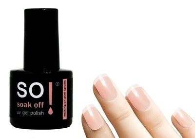 So! Soak off gel polish walking on pink clouds