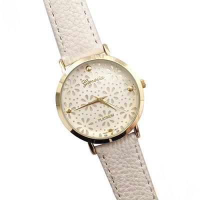 Geneva horloge White Flower