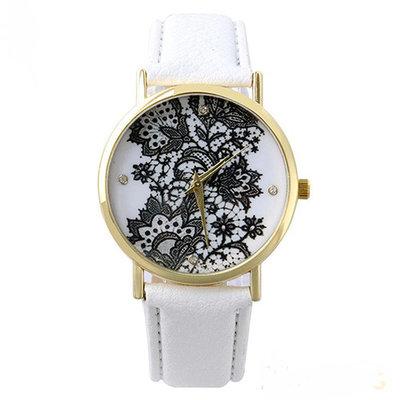 Horloge White Lace