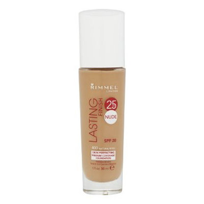 Rimmel Lasting Finish 25HR Foundation Natural Beige 400