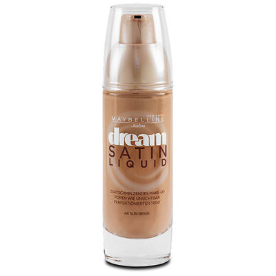 Maybelline Dream Satin Liquid Foundation Sun Beige 048