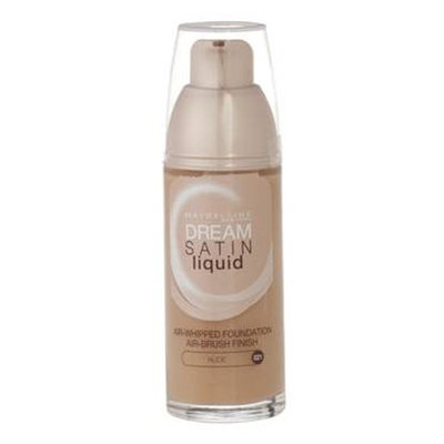 Maybelline Dream Satin Liquid Foundation Nude 021