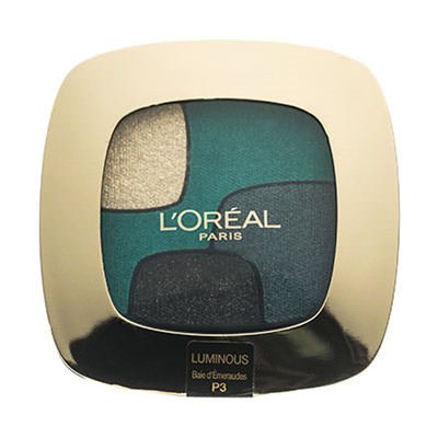 L'oreal Paris Color Riche Quad Smokey Emerald Conquest P3
