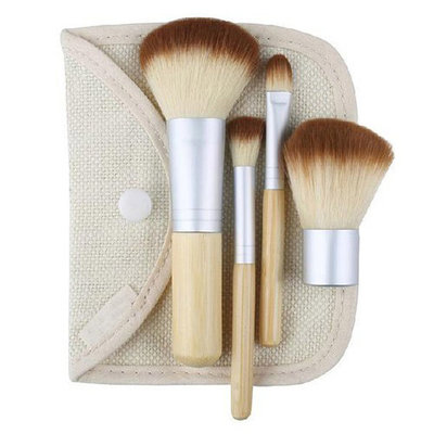 Set van 4 make-up kwasten