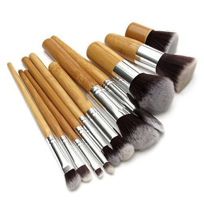 Set van 11 make-up kwasten