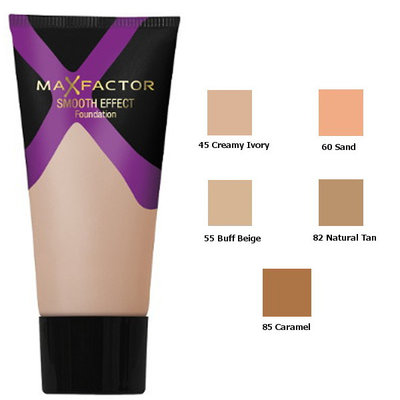Max Factor Smooth Effect Foundation Natural Tan 82