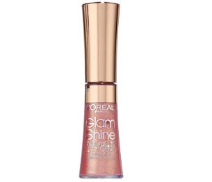 L'Oréal Glam Shine Lipgloss Crystal Rose Glow 401